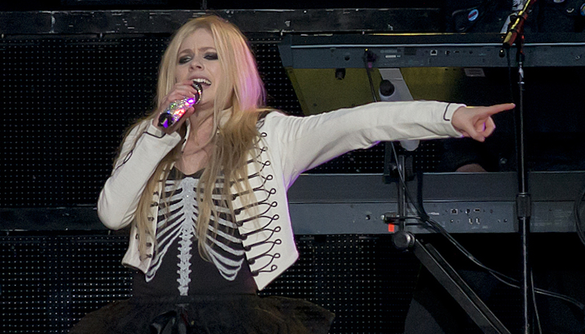 Avril Lavigne Live in Chicago