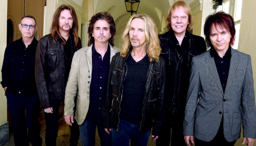 With Frank Lucas: Lawrence Gowan