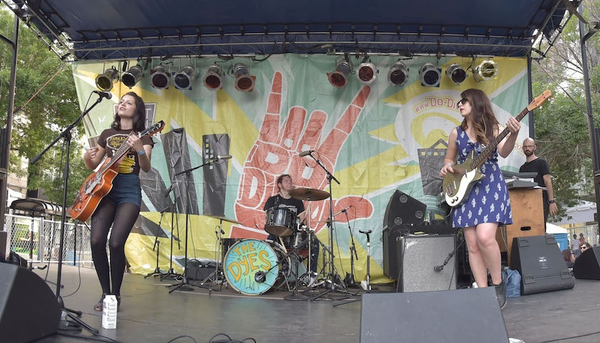 The Dyes at Do Division Street Festival