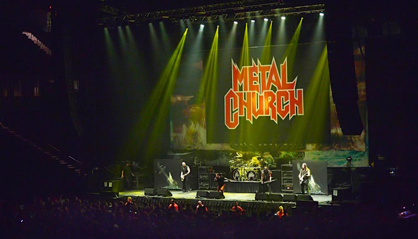 Metal Church Live at Sears Centre