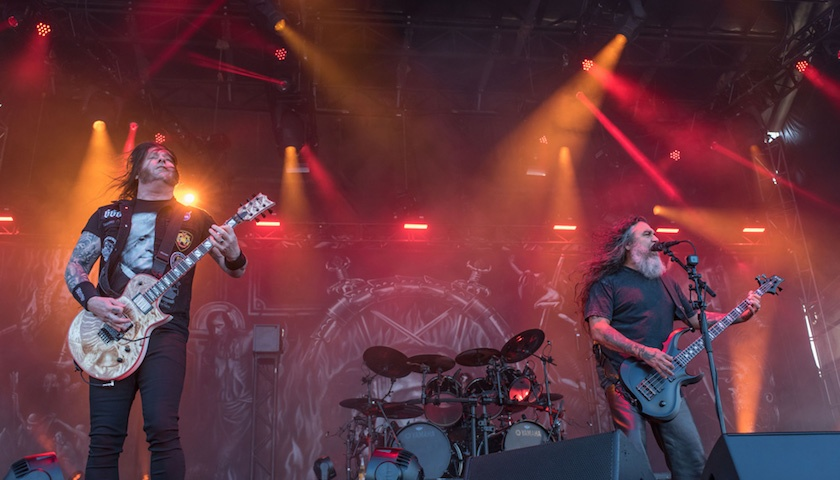 Slayer Live at Chicago Open Air