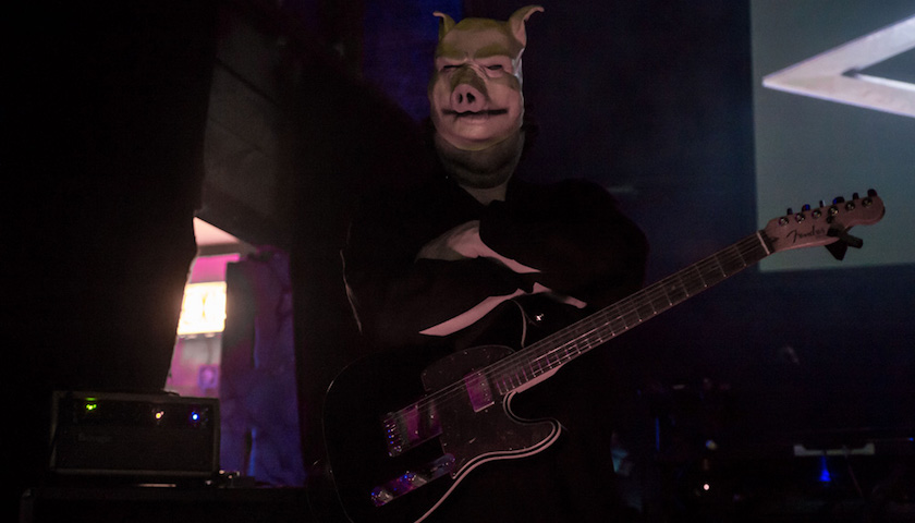 Pig at Reggies