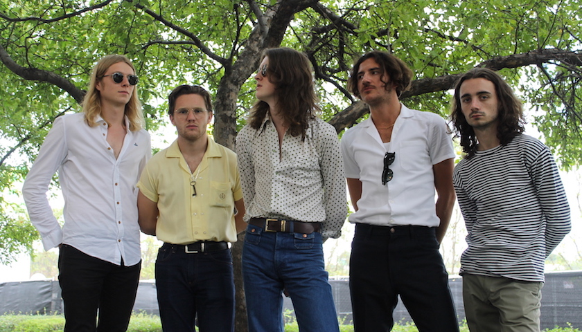 Blossoms Interview at Lollapalooza