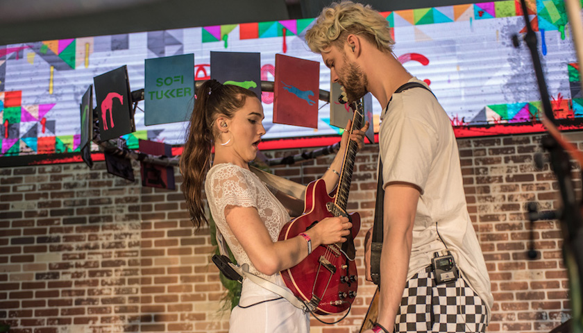 Sofi Tukker Live at Lollapalooza