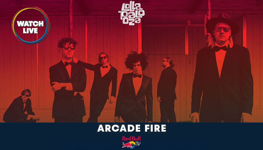 Arcade Fire and Royal Blood now added to Lollapalooza Livestream