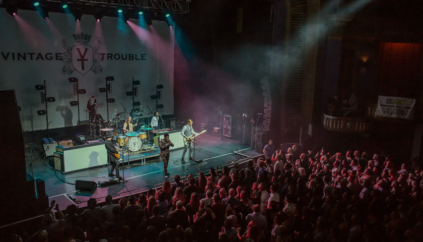 Vintage Trouble Live at the Riviera Theatre