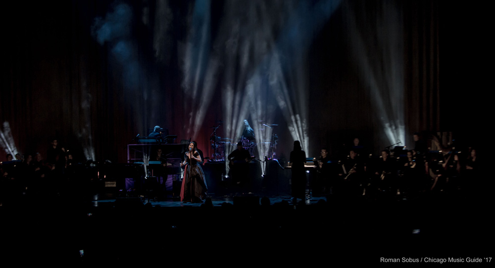 Review Evanescence Live At The Chicago Theatre