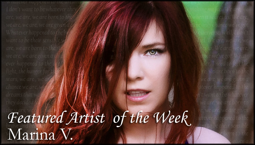 FEATURED ARTIST - Marina V