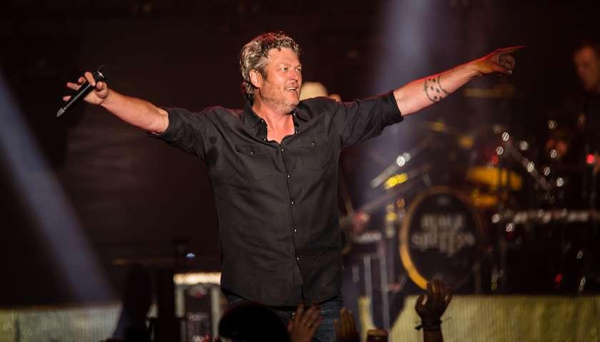 Blake Shelton Live at Lakeshake Festival