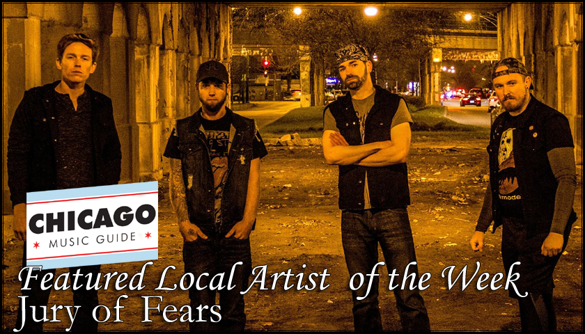 FEATURED LOCAL ARTIST – Jury of Fears