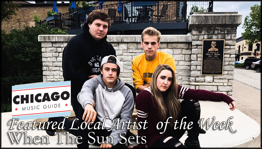 Featured Local Artist – When The Sun Sets