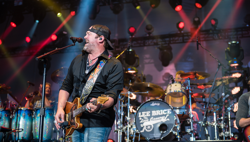 Lee Brice Live at Lakeshake Festival