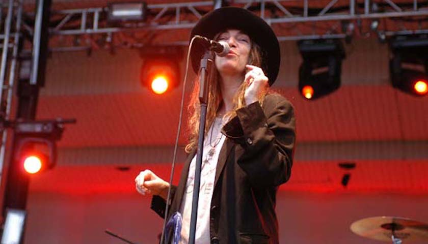 Patti Smith Live at Lollapalooza