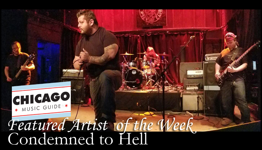 FEATURED LOCAL ARTIST - Condemned to Hell
