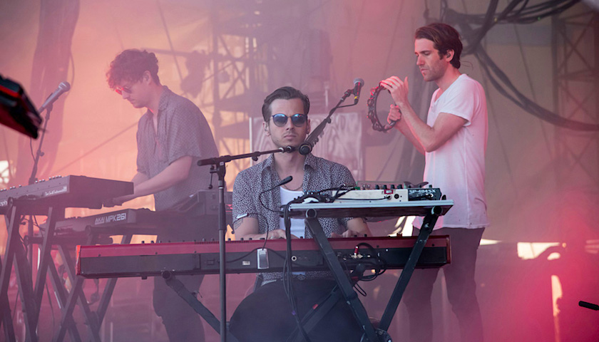 Foster the People Live at Huntington Bank Pavilion