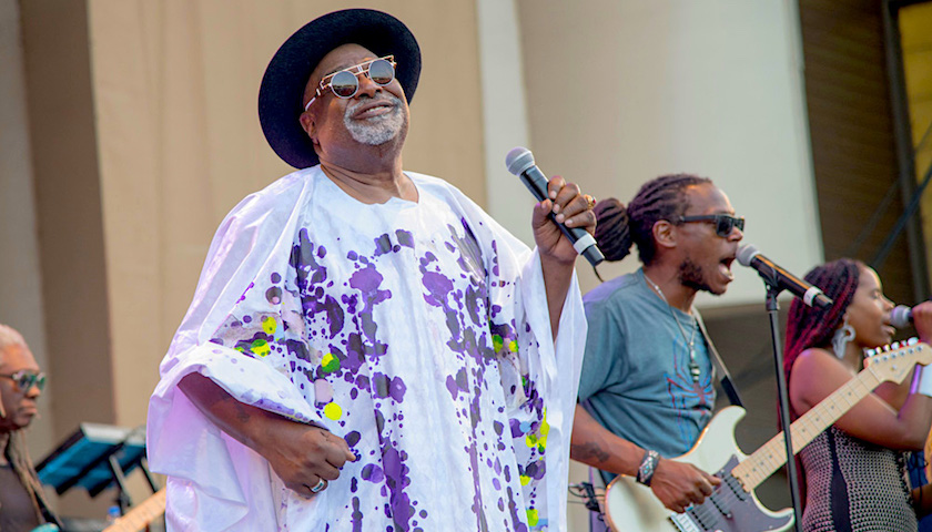 George Clinton Parliament Funkadelic at Taste of Chicago