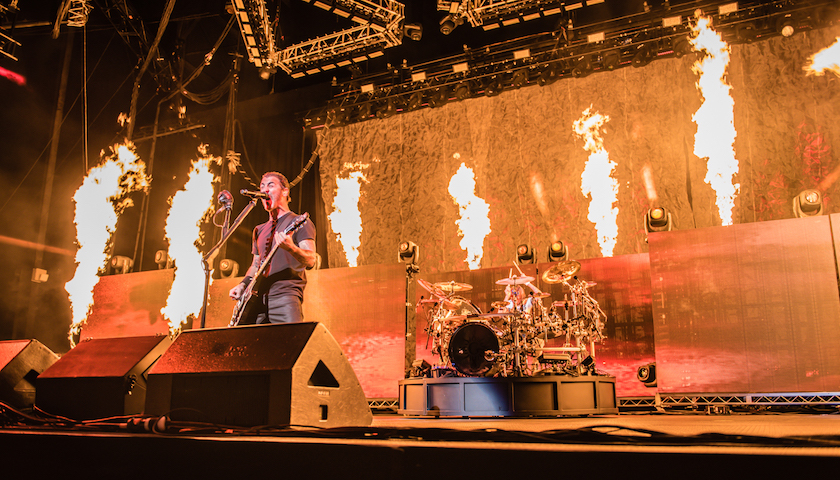Godsmack Live at Hollywood Casino Amphitheatre