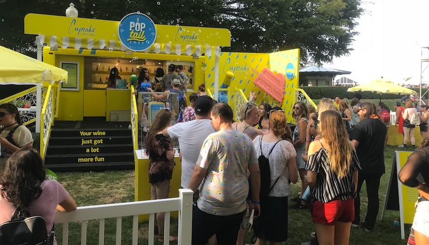 Cupcake Vineyards – Making Today the Occasion at Lollapalooza