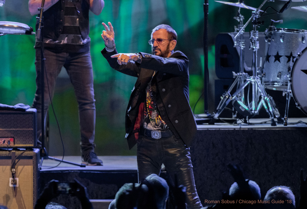 Ringo Starr and His All Starr Band Live at the Chicago Theatre