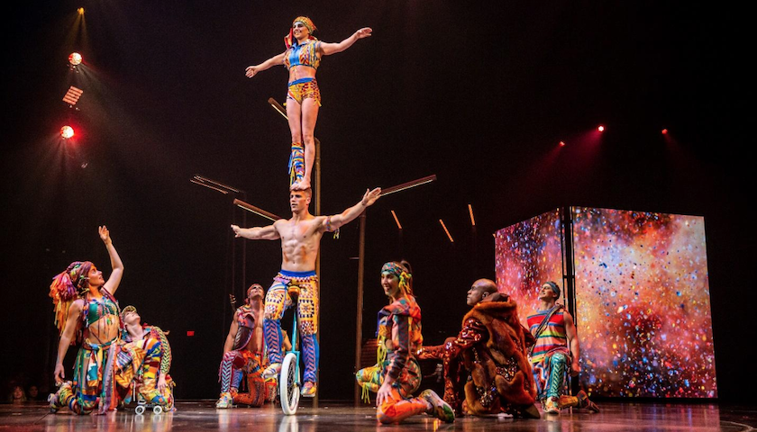 """WOW!"" Cirque du Soleil's VOLTA Takes Soldier Field and Chicago's Hearts"