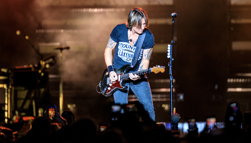 Keith Urban Live at Lakeshake Festival