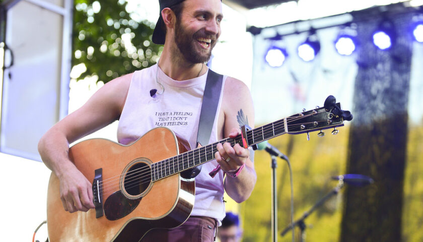 Ruston Kelly Live at Lollapalooza