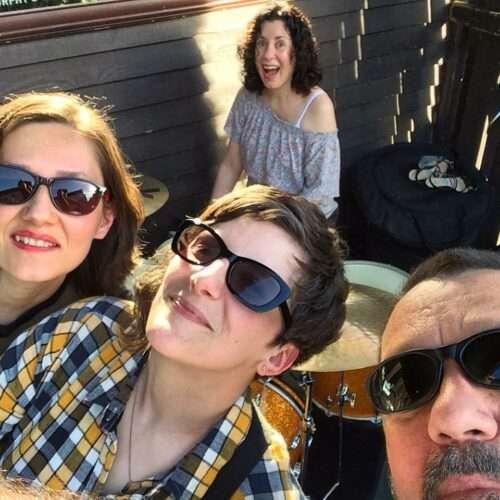 Quartet Selfie