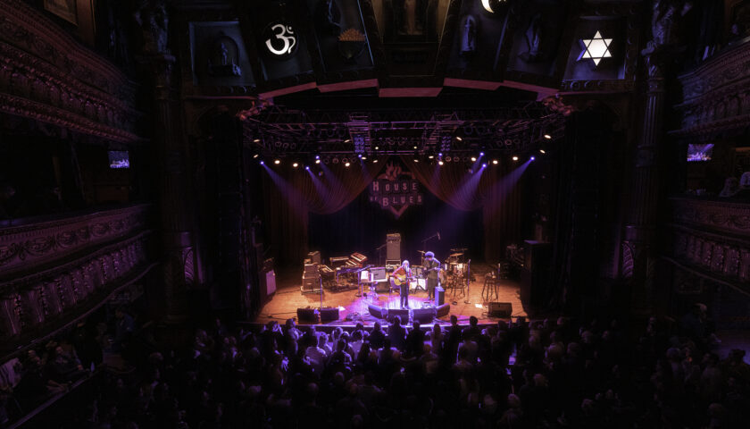 Sammy Brue - House of Blues - Chicago, IL - 2/4/20 - Photo © 2020 by: Terry Trippany