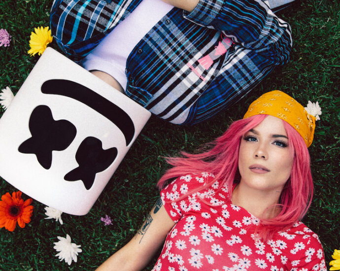 Marshmello and Halsey