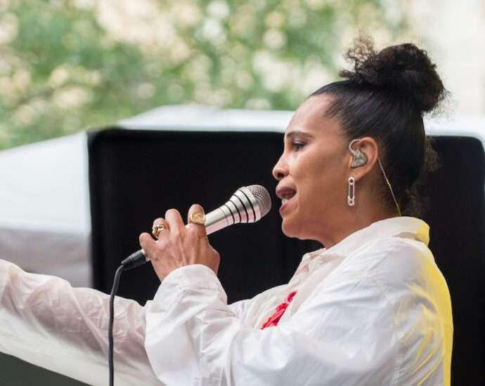 Neneh Cherry Live at Pitchfork